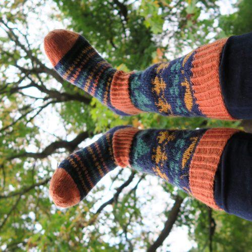 Sädäri-sukat käytössä